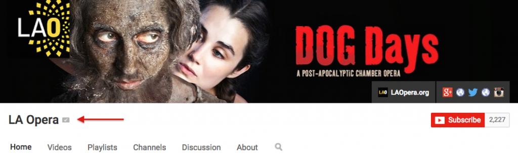 YouTube Channel LA Opera