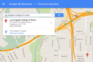 find business on Google My Business
